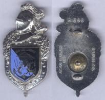 Insigne De La Brigade De Gendarmerie Territoriale En Indochine - Police & Gendarmerie
