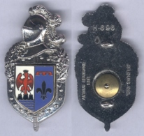 Insigne De La Compagnie De Circulation Routière De Gendarmerie De Provence Côte D'Azur - Police & Gendarmerie