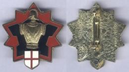Insigne De La Direction Des Travaux Du Génie De Fribourg - Armée De Terre