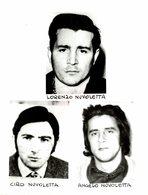 LORENZO NUVOLETTA, CIRO NUVOLETTA, ANGELO NUVOLETTA  Stampa Della Mafia Premere Foto Italia - Personalidades Famosas