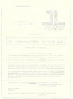 Ciné  Bioscoop Cinema - Pub Reclame - L'Ecran Des Forets - Film Stage Coach - John Ford - Merchandising