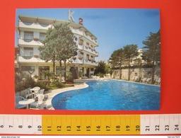 CA.16 ITALIA CARD - 1980 NUMANA ANCONA HOTEL K2 PISCINA DEDICATO ALLA MONTAGNA HEVEREST 8000 - Pakistan