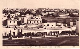 MAROC - CASABLANCA - VUE GENERALE PRISE DU LYCEE - Casablanca