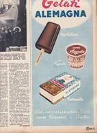 (pagine-pages)PUBBLICITA' ALEMAGNA   Settimanaincom1957/29. - Livres, BD, Revues