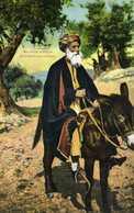 Marchand Arabe De Bethléhem Sur Son Ane Colorisée EC - Palestine