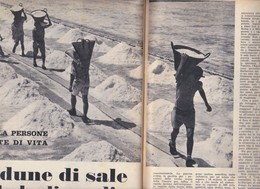 (pagine-pages)LE SALINE TRAPANESI   Settimanaincom1957/29. - Livres, BD, Revues