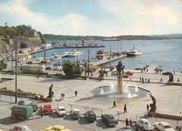 Norvège - Oslo - Utsikt Over Radhusplassen Og Havna - City Hall Square And The Harbour - Norvège