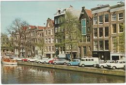 Amsterdam: OPEL KAPITÄN P2, KADETT B, REKORD P2, VW T1C BUS,1200 KÄFER/COX, RENAULT GOÉLETTE, CITROËN 2CV Prinsengracht - Toerisme