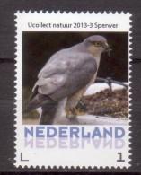 Nederland  Persoonlijke Zegel Birds, Vogel, : Sperwer, Sparrow-hawk - Periode 2013-... (Willem-Alexander)