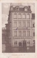 555/ Köln-deutz. Hotel Restaurant Gebr. Sünner, Inhaber Erwin Heuse, Hochwasser - Koeln