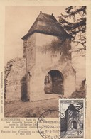 CARTE MAXIMUM N° 921 VAUCOULEURS 1952 - Cartes-Maximum