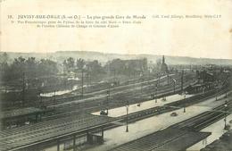 WW 91 JUVISY-SUR-ORGE. A L'Epoque La Plus Grande Gare Du Monde 1916 - Juvisy-sur-Orge