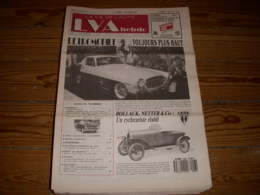LVA VIE De L'AUTO 90/08 02.1990 CYCLECAR BNC MONTLHERY 195x TRAIN ROUTIER RENARD - Auto/Moto