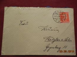Lettre De 1928 à Destination De Gezenberg - Deutschland