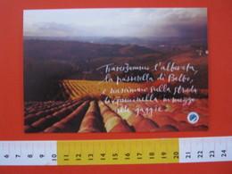 CA.16 ITALIA CARD - 2000 SANTO STEFANO BELBO CUNEO FONDAZIONE CESARE PAVESE SCRITTORE ILLUSTRE PIEMONTE - Cultures