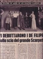 """(pagine-pages)IL """"TEATRO NUOVO"""" Di NAPOLI   Settimanaincom1957/37. - Livres, BD, Revues"""