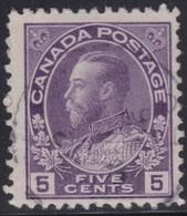 Canada  .  Scott     .      112c        .      O    .  Cancelled  .   /    .  Gebruikt - 1911-1935 Regering Van George V