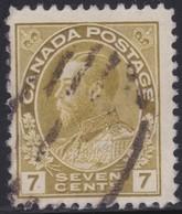 Canada  .  Scott     .      113iv      .      O    .  Cancelled  .   /    .  Gebruikt - 1911-1935 Regering Van George V