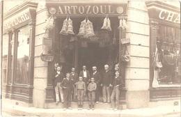 Dépt 10 - CARCASSONNE (rue De La Liberté) - CARTE-PHOTO Devanture Magasin CHASSE-PÊCHE Jean-Baptiste ARTOZOUL - Carcassonne