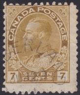 Canada  .  Scott     .      113    .      O    .  Cancelled  .   /    .  Gebruikt - 1911-1935 Regering Van George V