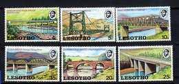 Lesotho ** N° 262 à 267 - Ponts Et Fleuves - Lesotho (1966-...)