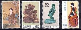 Series De Japón N ºYvert (1348/49+1445/46)** - 1926-89 Emperador Hirohito (Era Showa)