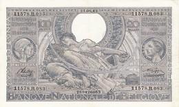 100 FRANCS - 20 BELGAS (31.08.43)  -  ETAT IMPECABLE - [ 2] 1831-... : Royaume De Belgique