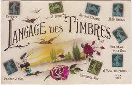 Pf. Langage Des Timbres. 1806 - Timbres (représentations)
