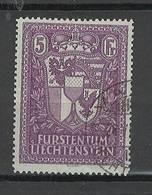 Liechtenstein - Yvert 122 - Exposition Philatélique - 1935 SIGNE BRUN - Oblitéré - Oblitérés