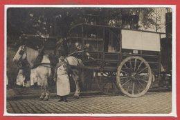 TRANSPORT --  Carte Photo - Abattoirs De La Villette - Cartoline