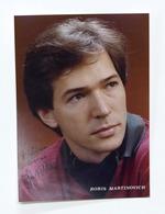 Musica Lirica - Autografo Del Basso-baritono Boris Martinovich - Anni '80 - Autographs