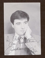 Musica Lirica - Autografo Del Tenore Luca Canonici - 1987 - Autographs