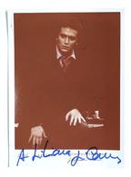 Musica Lirica - Autografo Del Tenore Spagnolo Josè Carreras - Anni '70 - Autografi