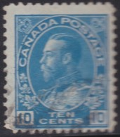 Canada  .  Scott     .      Stamp      .      O    .  Cancelled  .   /    .  Gebruikt - 1911-1935 Regering Van George V