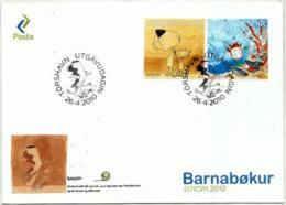 Feroe Nº 634/35 En Sobre - Islas Faeroes