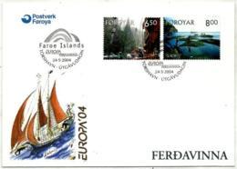 Feroe Nº 493/94 En Sobre - Islas Faeroes