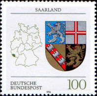 RFA Poste N** Yv:1544 Mi:1712 Saarland Armoiries - [7] République Fédérale
