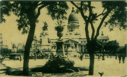 ARGENTINA - BUENOS AIRES - PLAZA CONGRESO - 1940s ( BG2941) - Argentine