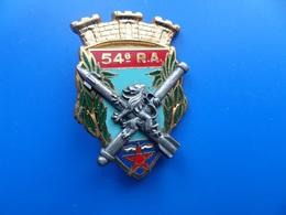 54° Régiment D'Artillerie , Insigne Artillerie , Insigne , Drago Noisiel - Armée De Terre