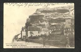 24 - LES EYZIES - Ruines De L'Ancien Château Bâti Dans Les Flancs Du Rocher - 1903 - RARE - France