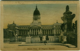 ARGENTINA - BUENOS AIRES - EL CONGRESO NACIONAL - EDIT F.K.L. - 1920s ( BG2942) - Argentine