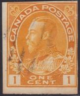 Canada  .  Scott     .      136    .      O    .  Cancelled  .   /    .  Gebruikt - 1911-1935 Regering Van George V