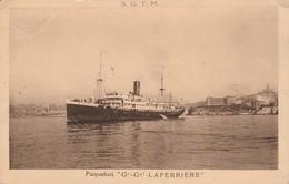 Paquebot : LAFERRIERE - Rapides Entre Marseille Et L'algérie ( Société Générale De Transports Maritimes à Vapeur ) - Paquebots