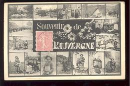 SOUVENIR DE L'AUVERGNE EN 1906 - Souvenir De...