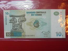 CONGO 10 FRANCS 1997 PEU CIRCULER/NEUF - Congo