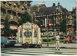 Amsterdam: PLYMOUTH BELVEDERE SATELLITE '66,TRAM, Drehorgel / Draaiorgel / Barrel-Organ / Orgue De Barberie 'G. Perlee' - Toerisme