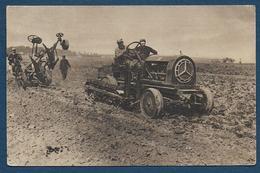 Soldados Franceses Con ..maquinas Automoviles - Carte Espagnole  1918 - ( Voir Scan Verso ) - Guerre 1914-18