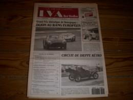 LVA VIE De L'AUTO 624 10.1993 TRACTEUR FERGUSON TEA 20 MINIATURES BUGATTI - Auto/Moto