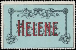 Reklamemarke: Helene - Cinderellas