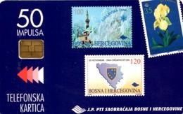 *BOSNIA* - Scheda A Chip Usata - Bosnia